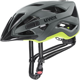 UVEX City Active Fietshelm, anthrazit/lime matt